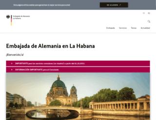 havanna.diplo.de screenshot