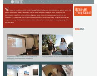 havc.ucsc.edu screenshot
