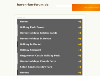 haven-fan-forum.de screenshot