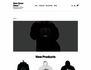 havesomeclass.com screenshot