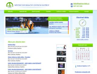 havirov-info.cz screenshot