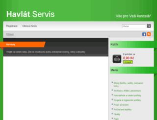 havlat-servis.cz screenshot