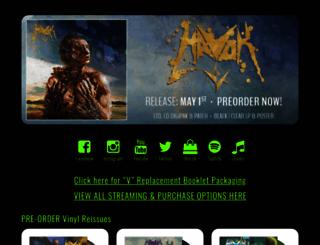 havokband.com screenshot