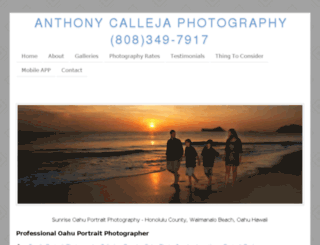 hawaii-portrait-photographer.com screenshot