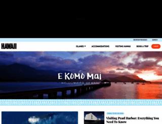 hawaii.com screenshot