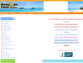 hawaiianfoodonline.com screenshot