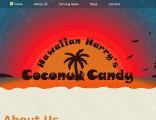 hawaiianharryscoconutcandy.com screenshot