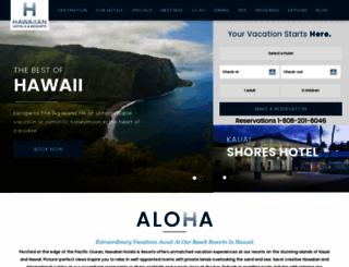 hawaiianhotels.com screenshot