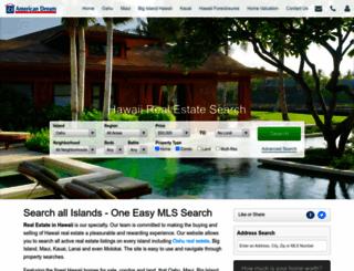 hawaiianrealestate.com screenshot