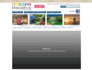 hawaiifun.org screenshot