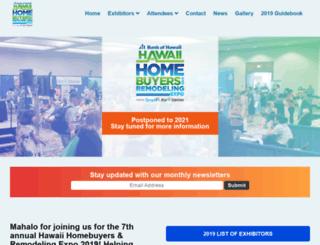 hawaiihomebuyersfair.com screenshot