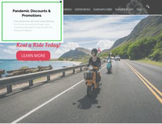 hawaiimoped.com screenshot