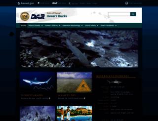 hawaiisharks.com screenshot