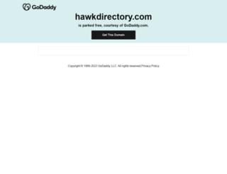 hawkdirectory.com screenshot