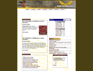 hawkheadquarters.com screenshot