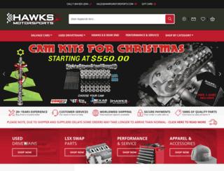 hawksthirdgenparts.com screenshot