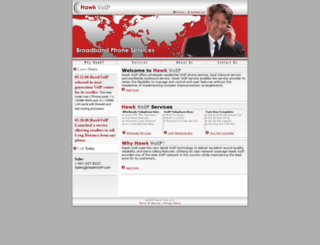 hawkvoip.com screenshot