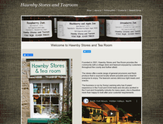 hawnbytearoom.co.uk screenshot
