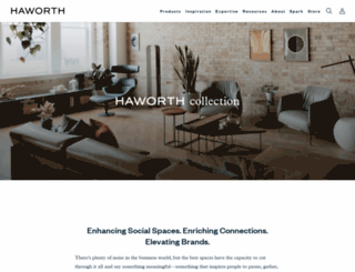 haworthcollection.com screenshot