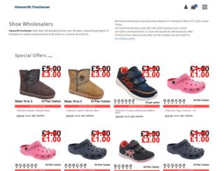 haworthfootwear.co.uk screenshot