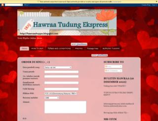 hawraashoppe.blogspot.com screenshot