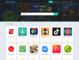 haxplanet.com screenshot