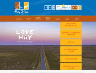 hay.nsw.gov.au screenshot