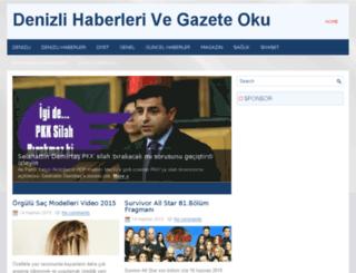 hayalimdekidenizli.org screenshot