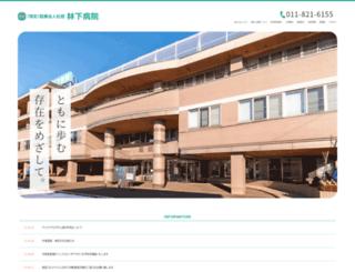 hayashishita.jp screenshot