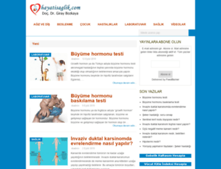 hayatisaglik.com screenshot