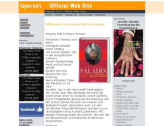 haydar-isik.com screenshot