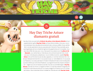 haydaytrichefrancais.wordpress.com screenshot