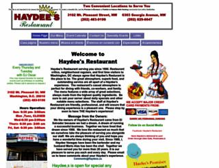 haydees.us screenshot
