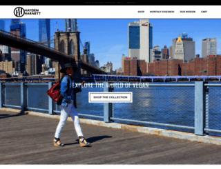 haydenharnett.com screenshot