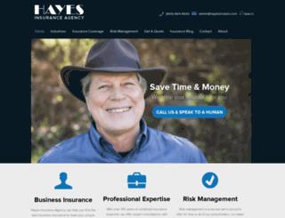 hayesbrokers.com screenshot