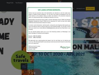 hayleystours.com screenshot