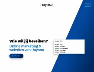 hayona.nl screenshot