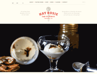 hayrosie.com screenshot