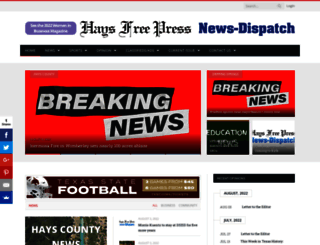haysfreepress.com screenshot