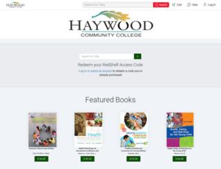 haywood.redshelf.com screenshot