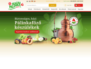 hazaipalinka.hu screenshot