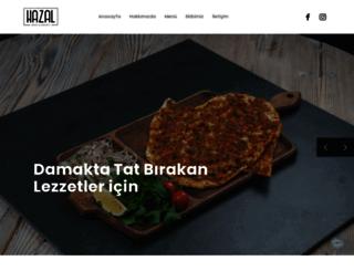 hazal.com.tr screenshot