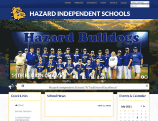 hazard.kyschools.us screenshot