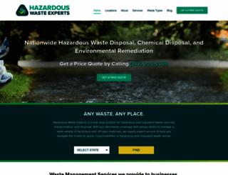 hazardouswasteexperts.com screenshot