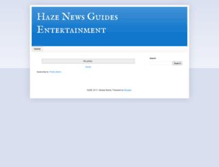 hazeirk.blogspot.com screenshot