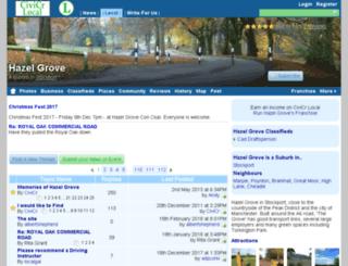 hazel-grove.co.uk screenshot