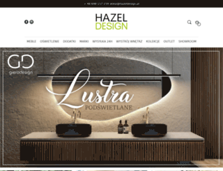 hazeldesign.pl screenshot