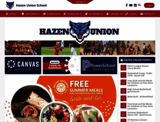hazen.ossu.org screenshot