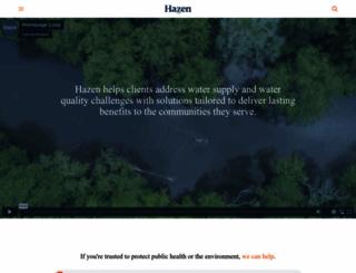 hazenandsawyer.com screenshot