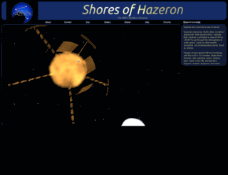 hazeron.com screenshot